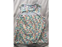 Ladies floral summer top.