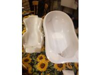 Mamas & papas Baby bath set brillant condition