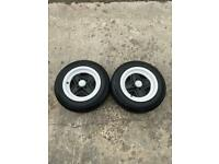Classic Mini Or Trailer Wheels 145/70R12 BRAND NEW TYRES