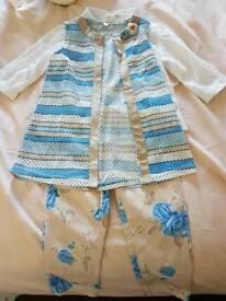 Little Girls Trouser Set