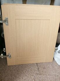 3x Doors for kitchen cabinets