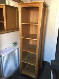 ocean bookcase solid Oak