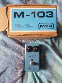 Mxr fuzz/octave pedal