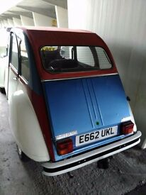 .A nice 2cv that I had for 8years or more its time to sell cause I bought another classic car.