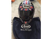 Motorbike helmet Arai helmet Excellent condition small