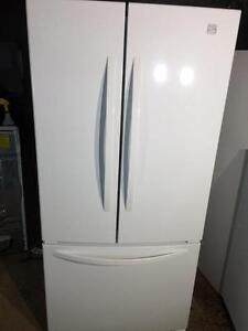 Kenmore Side By Side Gloss White Fridge