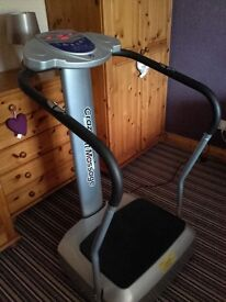 Vibrating exercise machine