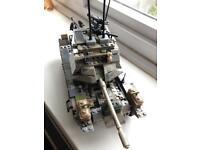 Mega Blocks Lego Tank and 100s of pieces extra