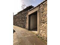 Large garage to rent in Trinity, Edinburgh