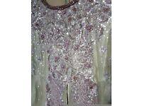 Pakistani wedding dress churidaar in gold and green
