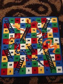 Kids Snakes & Ladders Rug
