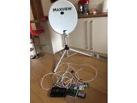 Portable Satellite TV kit