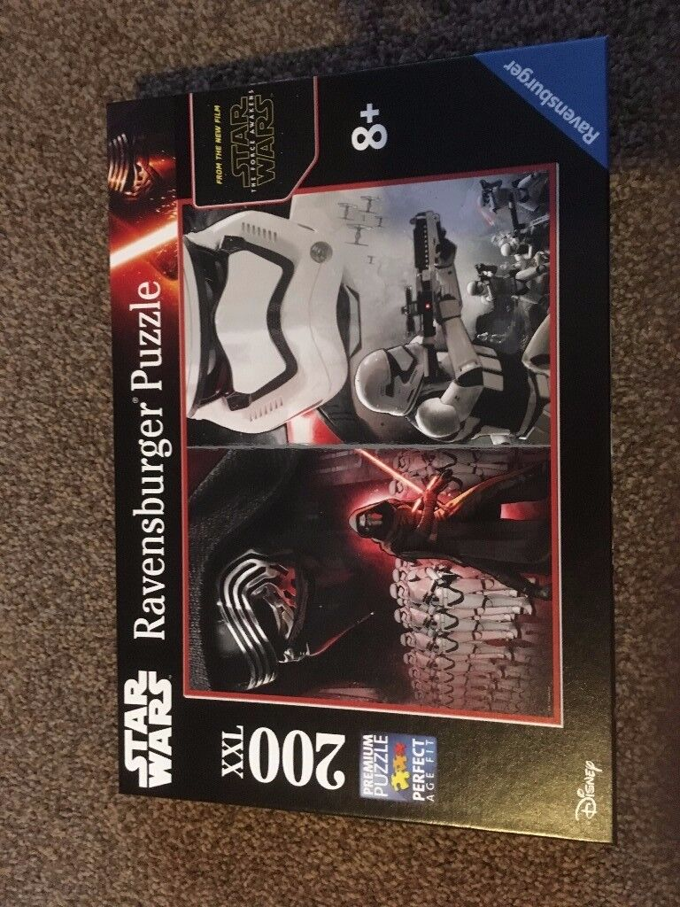 Star Wars The Force Awakens Ravensburger XXL jigsaw £7