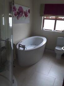Jaquzzi bath