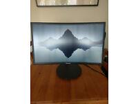 """Samsung CFG70 24"""" 1080p 144HZ Gaming Monitor"""