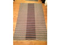 Area Rug 122cm by 182cm or 4ft by 6ft - Soft but Non shedding/Reversible