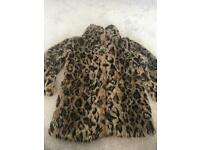 Girls Next winter coat size 7