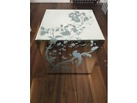 Laura Ashley Gatsby Cube Side Table - x2 Available