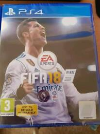 Fifa 18 brand new with rare players pack