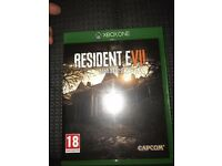 Resident Evil 7 Biohazard Xbox One - Mint Condition