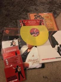 Various rare Michael Jackson items