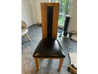 ***FREE 8 x SOLID OAK DINING ROOM CHAIRS***