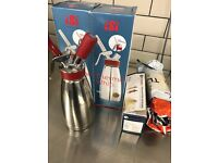 ISI Thermo Whipped Cream Dispenser x 2