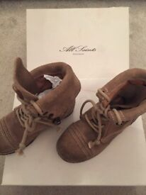 All Saints girls boots