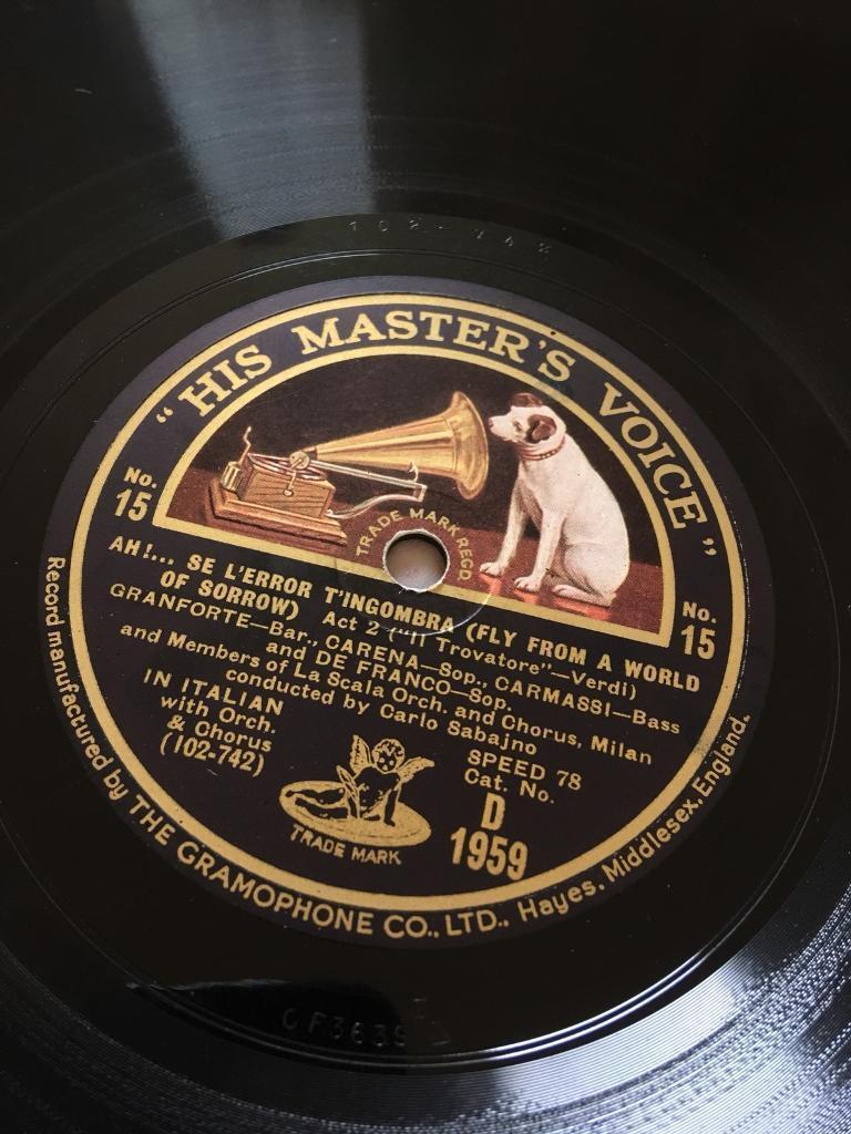 Approx 100 78rpm Vinyl Records