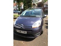 Citreon C4 family car with tow bar and roof rails. 7 Seats