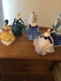 Sux Royal Doulton Figures