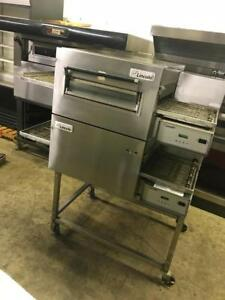 Electric Imperial double  stackable conveyor pizza ovens ( like new ) only $7,999 ! Save $$$ retails about $20!