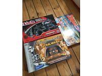 Boards Games, Star Wars Trivial Pursuit, Transformer Risk, Thunder birds International