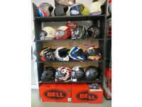 EVOLUTION MOTOR WORKS - Lurgan - Official **Bell Helmet** Premium Agent - Ireland