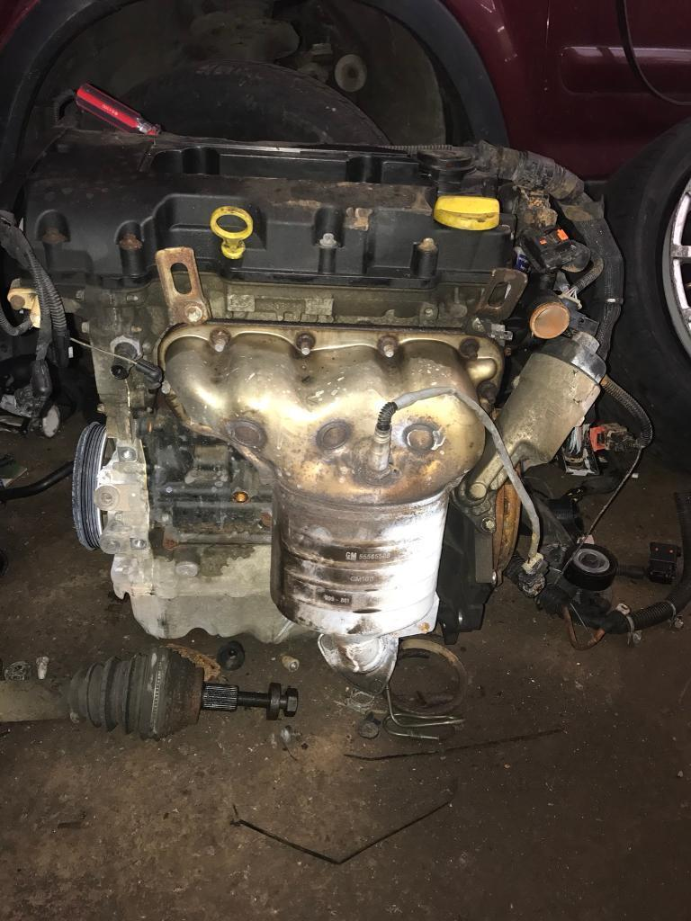 Corsa d engine with 46k