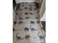 Next childrens single dinosaur duvet set