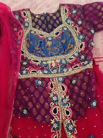 3 piece lengha size 12/small