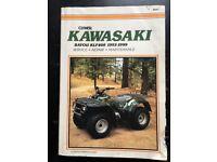 Kawasaki KLF 400cc Quad bike Service -Repair-Maintenance Manual