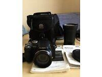 Panasonic digital camera +telephoto lens