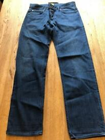 Hugo boss green mens jeans w33 l32 brand new
