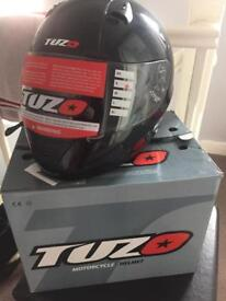 Brand new motorcycle helmet