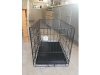 Nearly New Dog crate in Medium, collapsible