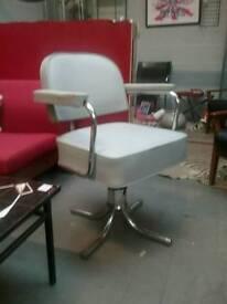 French Vintage Adjustable Chair. Retro Mid Century