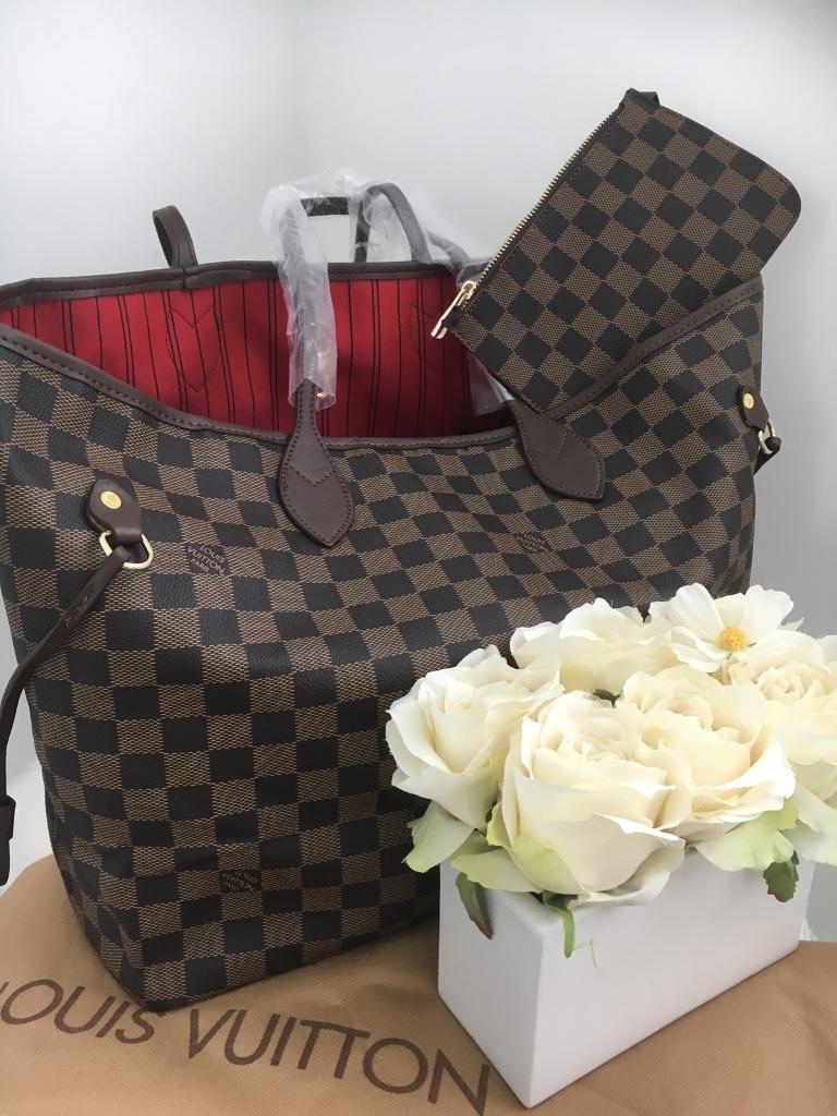 Louis Vuitton neverfull bag .Large  0ac217bc829