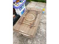 Outdoor sand or water tray with lid