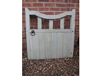 Vintage Wooden Gate (good condition with fixings)