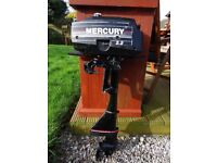 Mercury 2.2 HP Outboard Engine