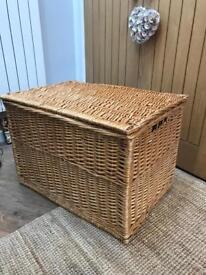 Lovely Large Wicker Storage Basket
