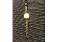 CARAVELLE NEW YORK - LADIES CARLA LEOPARD PRINT WATCH