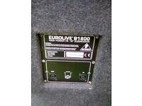 Behringer.eurolive B 1800 Subwoofers. ( pair )